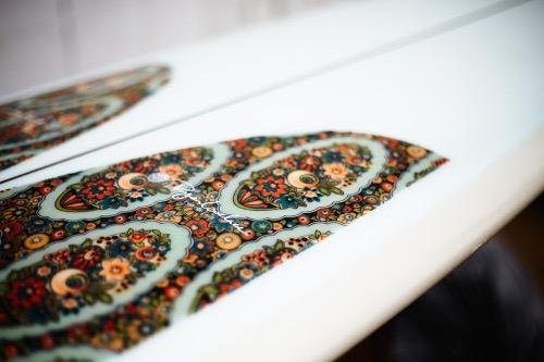 Fabric Inlay  Photo by Chris Delorenzo