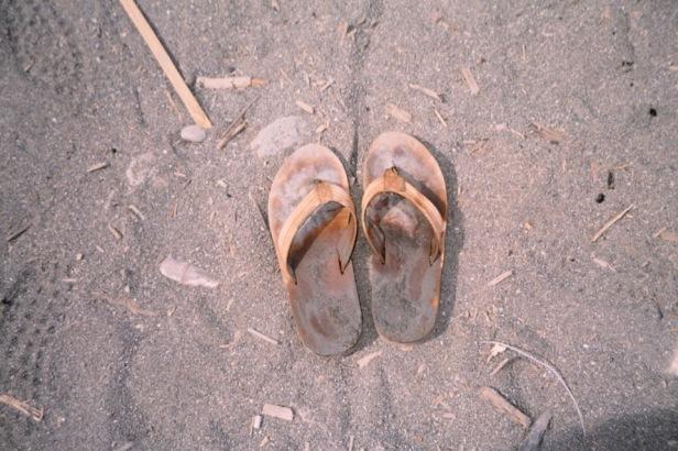 自己討厭穿鞋子